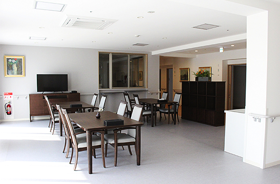 2階 食堂談話室